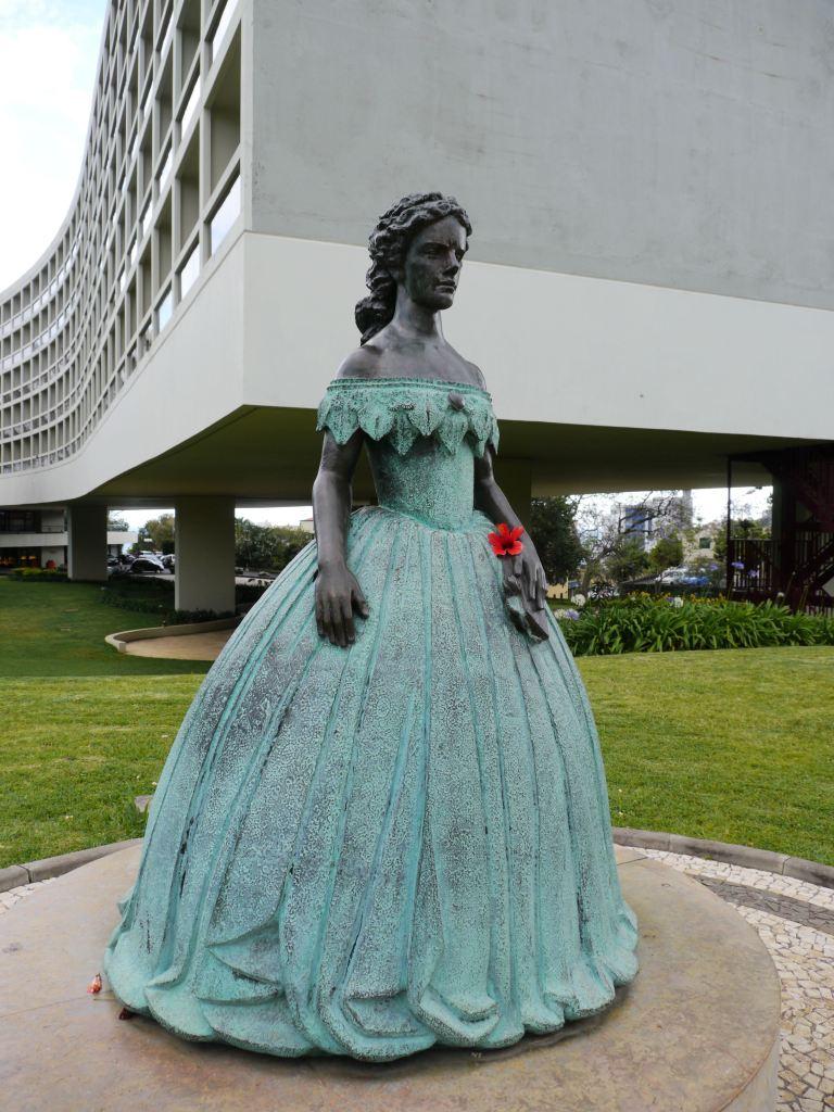 Funchal - Statue de Sissi